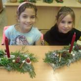 3.d Karácsonyi asztalidísz