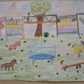 Rajzpályázat - Iskolánk udvara
