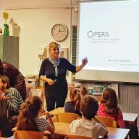 Iskolánkban jártak az Opera Nagykövetei 3.c